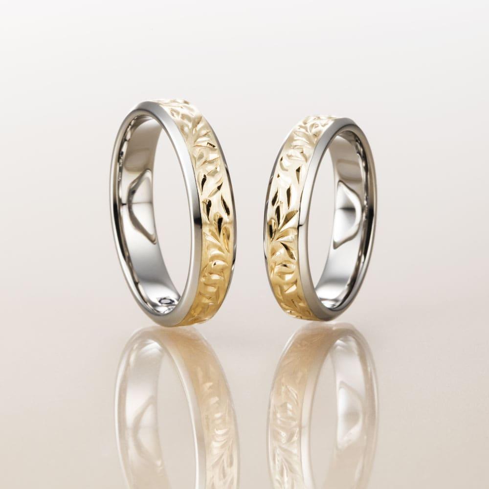 マカナ結婚指輪のレイヤータイプ4.5mm幅