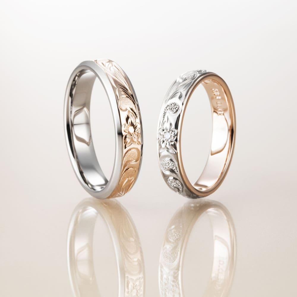 マカナ結婚指輪のレイヤータイプ