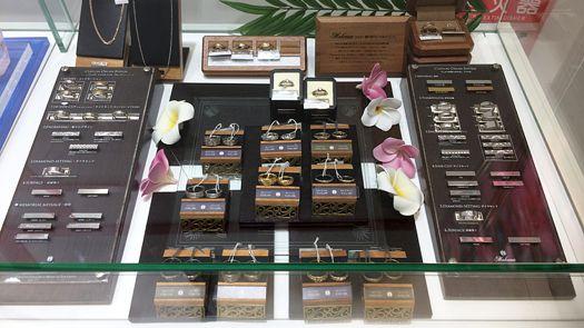 北海道(札幌市)で唯一のハワイアンジュエリー・結婚指輪・マカナ取扱店、グラシス 札幌発寒店