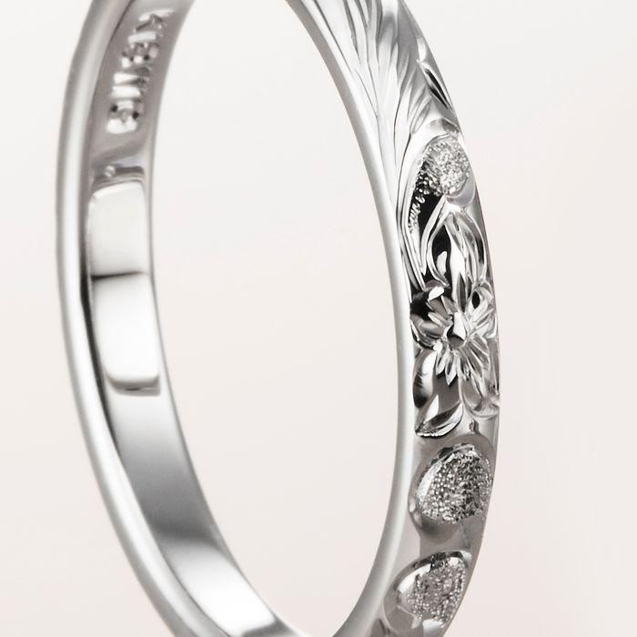 マカナ 結婚指輪 バレルタイプ