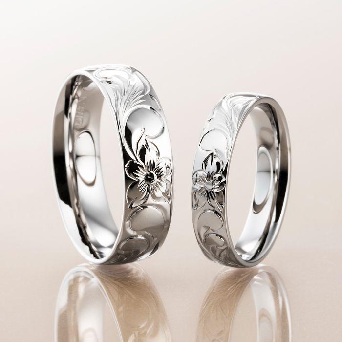 マカナ 結婚指輪 K14ゴールド バレルタイプ