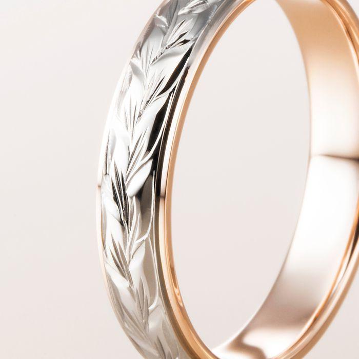 マカナ 結婚指輪 レイヤータイプ