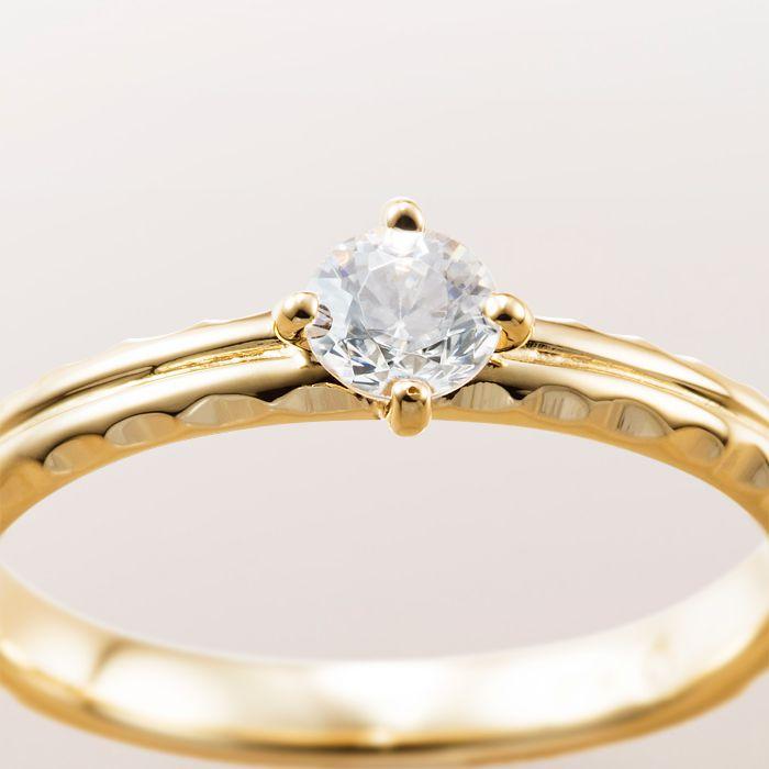 マカナ 婚約指輪 サイドカットタイプ