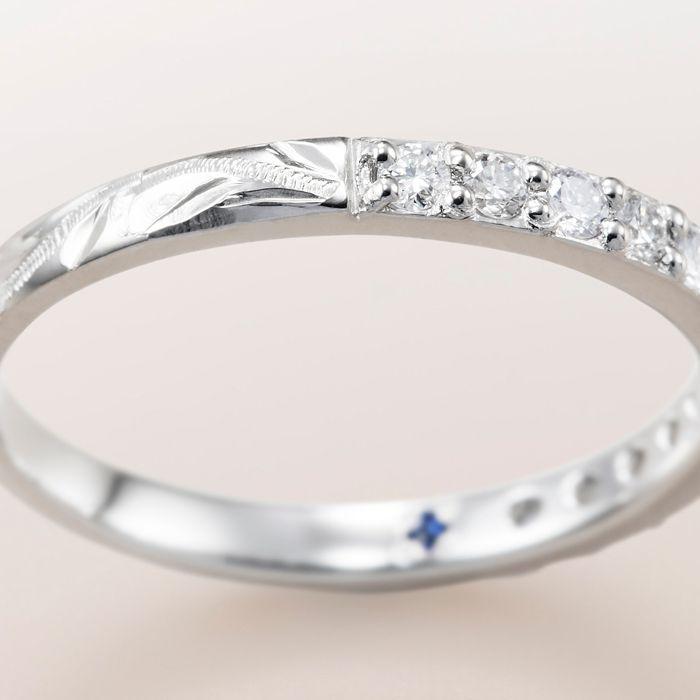 マカナ 結婚指輪 ハーフエタニティ